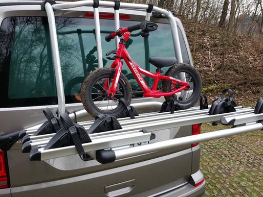 Original Fahrradträger, Veloträger VW T6 T6.1 für Heckklappe | CHF 670.- inkl. MwSt | ab Lager 2020