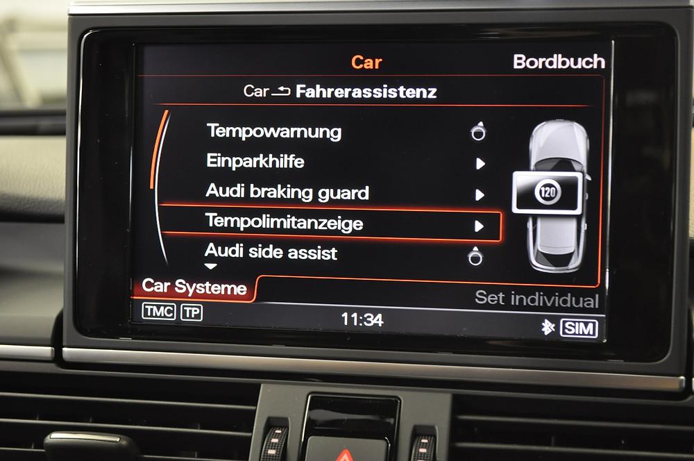 4G Verkehrszeichenerkennung