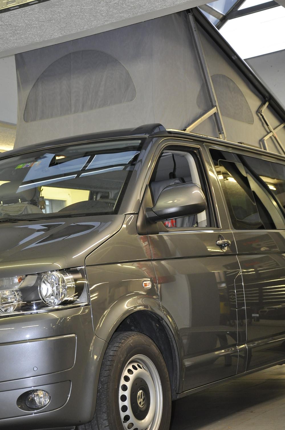 VW California Aufstelldach Reparatur