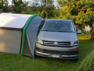 GYBE Bus Tent ab Lager kaufen, VW T5 & T6 aufblasbares Gybe Bus Vorzelt bei uns in Zürich ab Lag