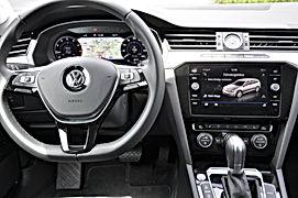 VW Passat Mietwange