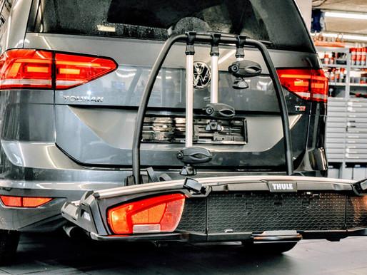 VW Touran Zugvorrichtung nachrüsten | Anhängerkupplung einbauen | Fahrradträger günstig kaufen
