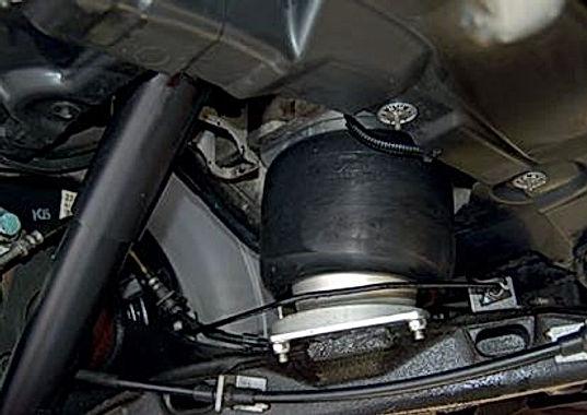 VW T6 Luftfahrwerk