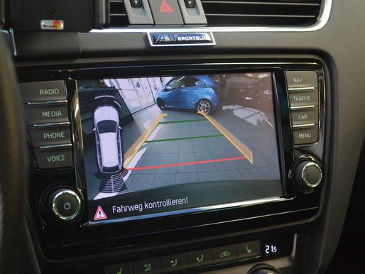 Skoda Octavia 7N original Rückfahrkamera nachrüsten, Rückfahrkamera Skoda einbauen / nachrüsten