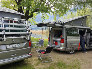 Unterwegs in den Alpen, Komfort wo du gerade bist.