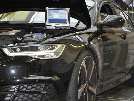 AUDI A6 4G (C7) alle Modelle mit Luftfederung AAS / Niveauregulierung, tiefer legen, elektronisch ti