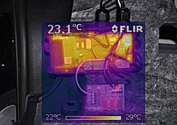 Thermografie Automobile