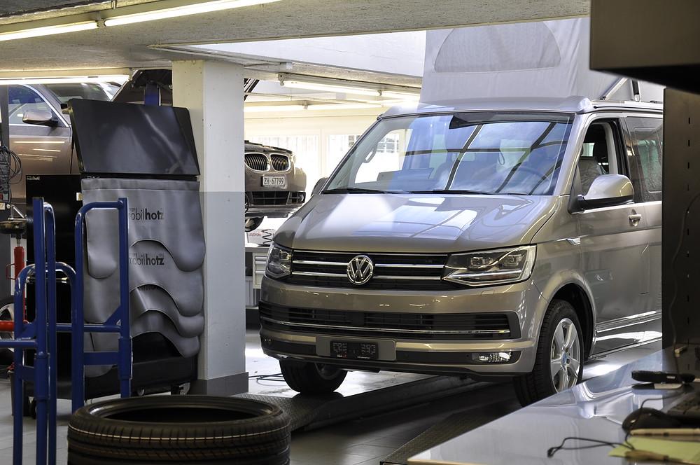 California Werkstatt, VW California kaufen