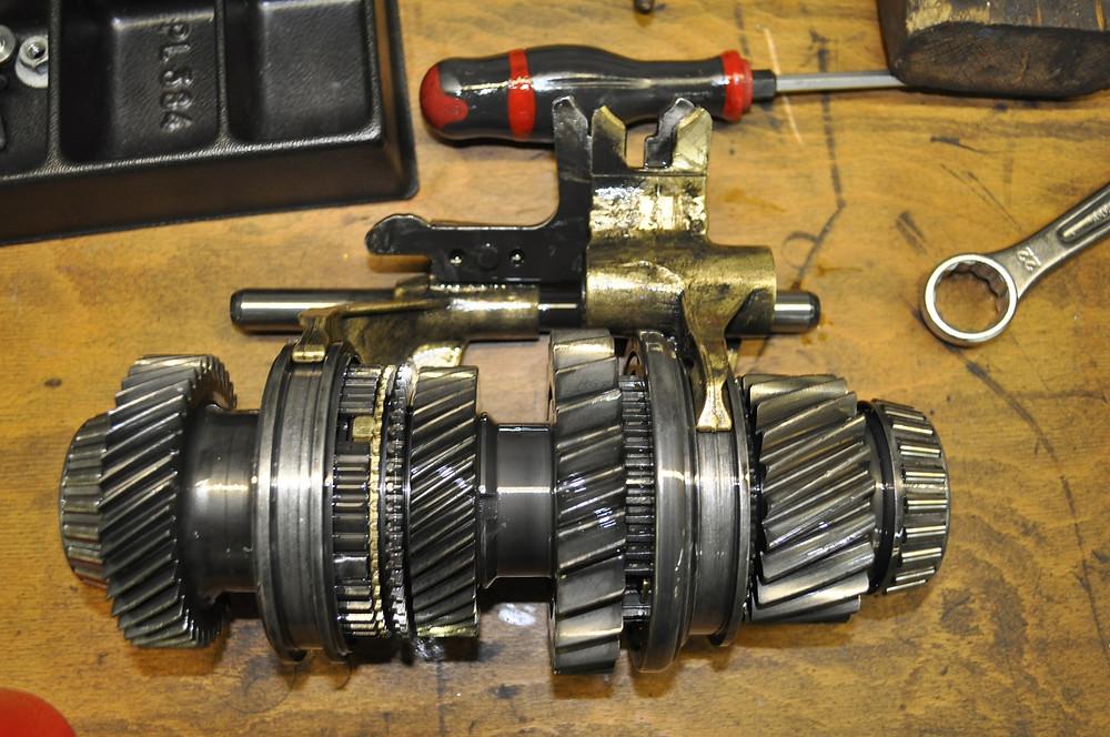 AUDI A3 Getriebe reparieren