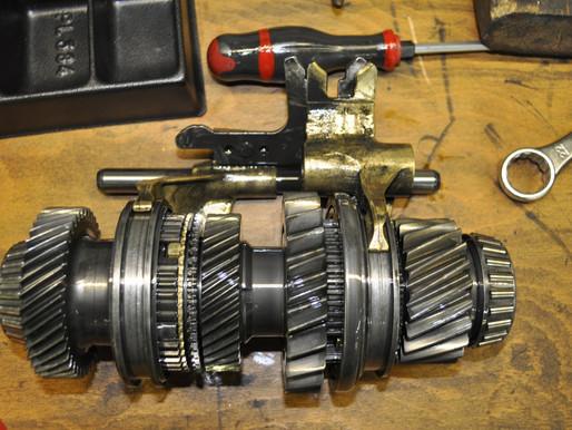AUDI A3 FSI Getriebe revidieren, 6 Gang Schaltgetriebe reparieren