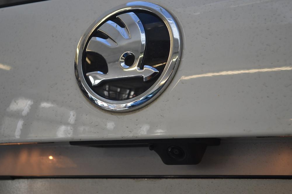 Skoda Octavia original Rückfahrkamera nachrüsten