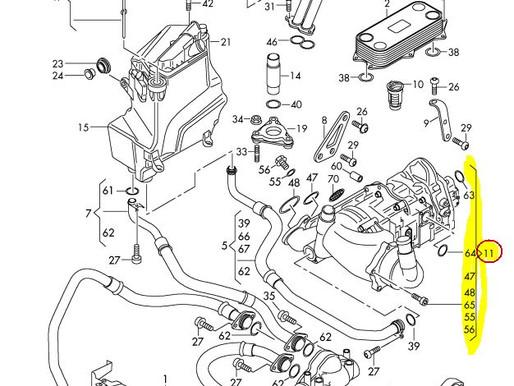 Ölpumpe Audi RS6 4F original Audi 07L115009AD für CHF 3000.- exkl. MwSt.