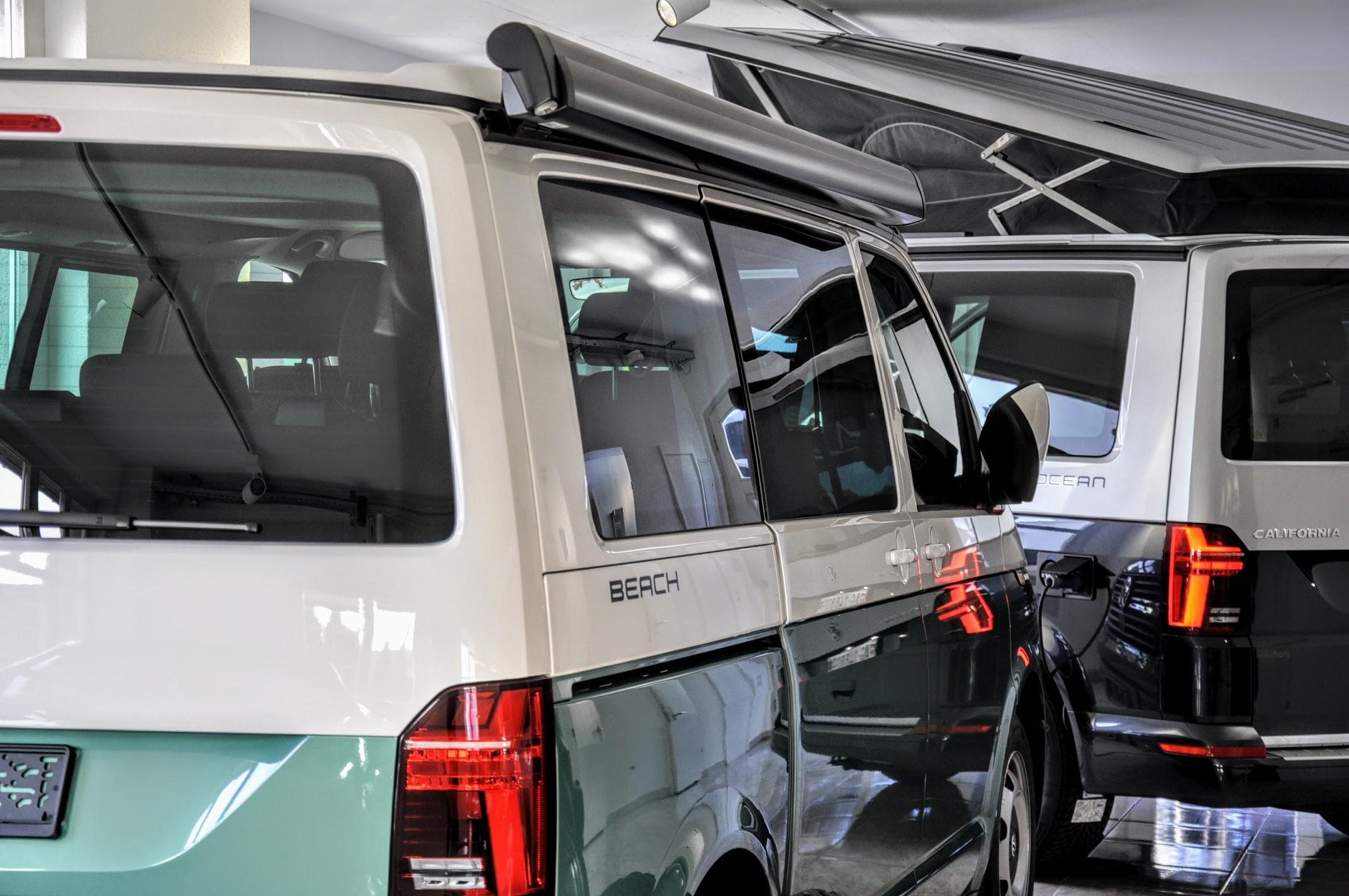 VW California im Showroom kaufen