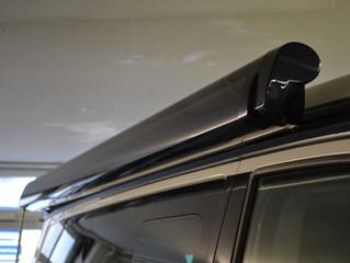 VW California T6 und T5 Markise in Wagenfarbe lackiert.