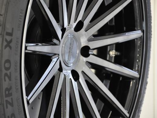 VW T6 California, Aluminium Radsatz 20 Zoll von Vossen | neu | ab Lager kaufen | CHF 3800.-