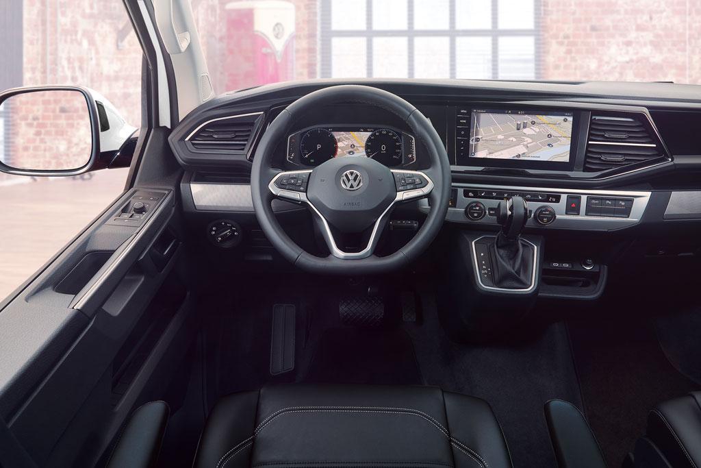 VW California T6.1 von innen