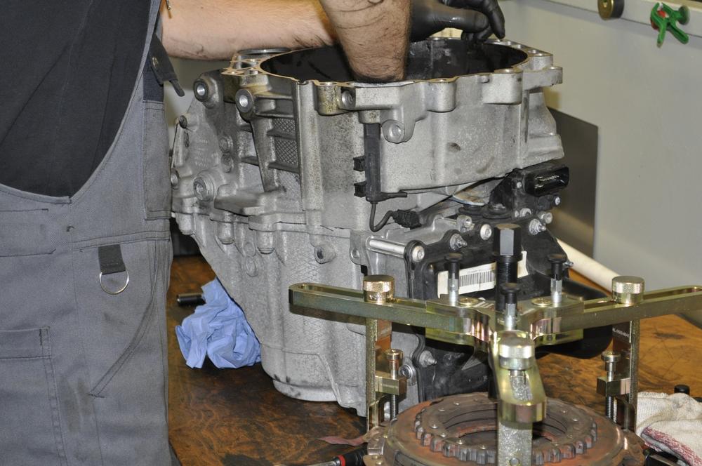 VW DSG Getriebe Kupplung Erneuern 7 Gang