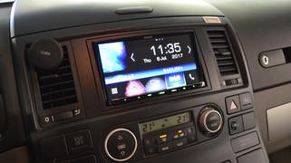 VW T5 T6 DAB+ nachrüsten, VW T5 T6 Navigation nachrüsten, VW T5 Bluetooth Freisprecheinrichtung nach