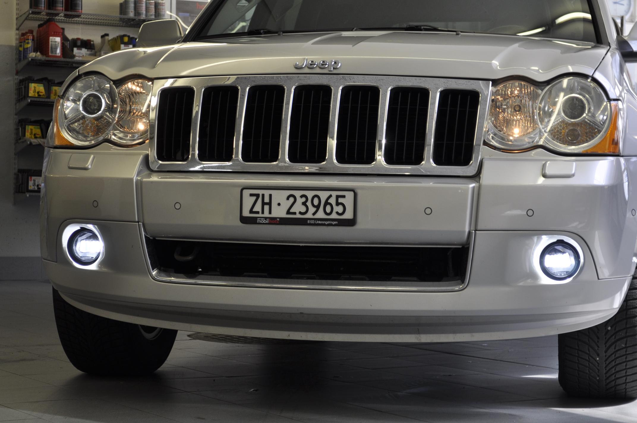 Jeep Grand Cherokee, LED Tagfahrlicht nachrüsten | garage mobilhotz ...