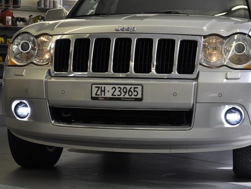 Jeep Grand Cherokee, LED Tagfahrlicht nachrüsten