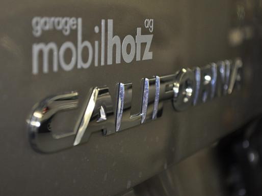 Neuwagen VW California CH Fahrzeuge bei der garage mobilhotz ag kaufen.