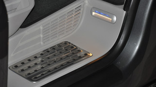 Edelstahl Trittbrett und Heckabdeckung für den VW T6 California | Original VW Edelstahl Trittbrett H