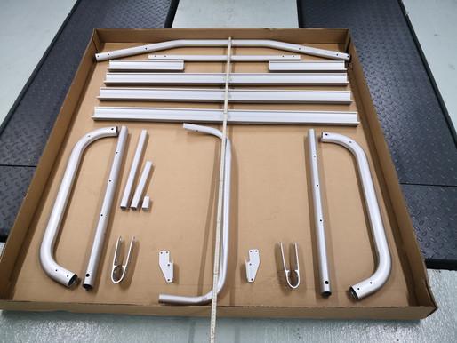 Ersatzteile und Reparaturen für den VW T6 original Fahrradträger für die Heckklappe | 7E0071104