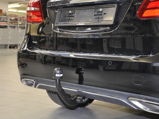 Mercedes Benz B-Klasse W242 W246 | Anhängerkupplung einbauen, nachrüsten. Zugvorrichtung nachrüsten