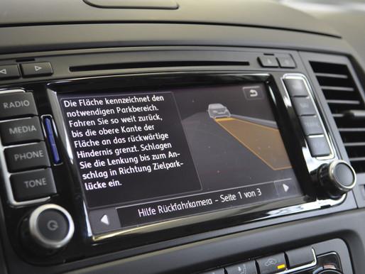 Original Rückfahrkamera für VW, SEAT, SKODA, AUDI nachrüsten