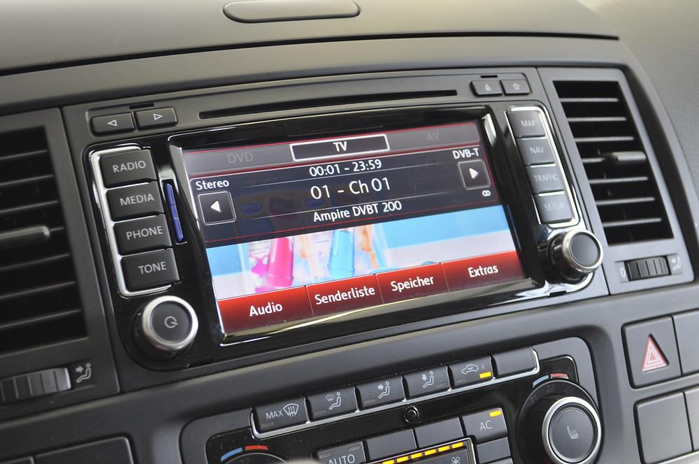Digital TV VW California