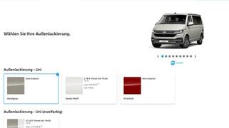 Fahrzeug Konfigurator VW California T6.1