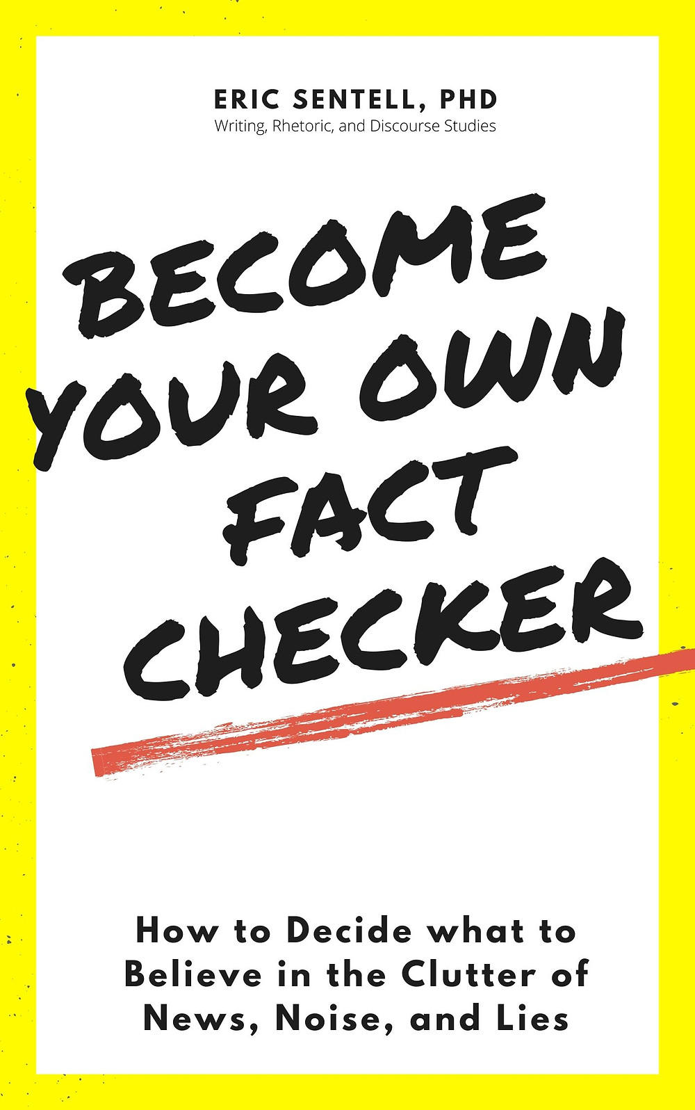 Book cover for Become Your Own Fact-Checker