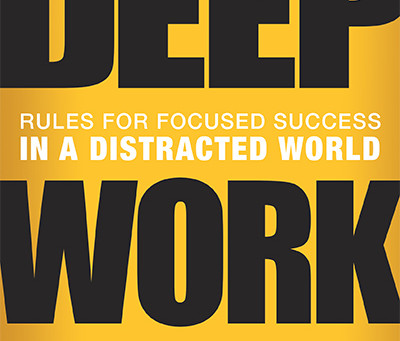 """Deep Work"" in the Age of COVID-19 and Social Distancing"