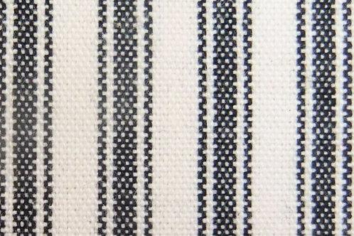 Black/Mocha Ticking Reversible  Ironing Mat