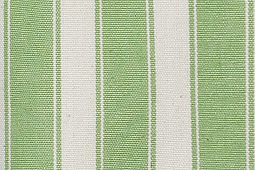 Apple Green Stripe Laundry Bag