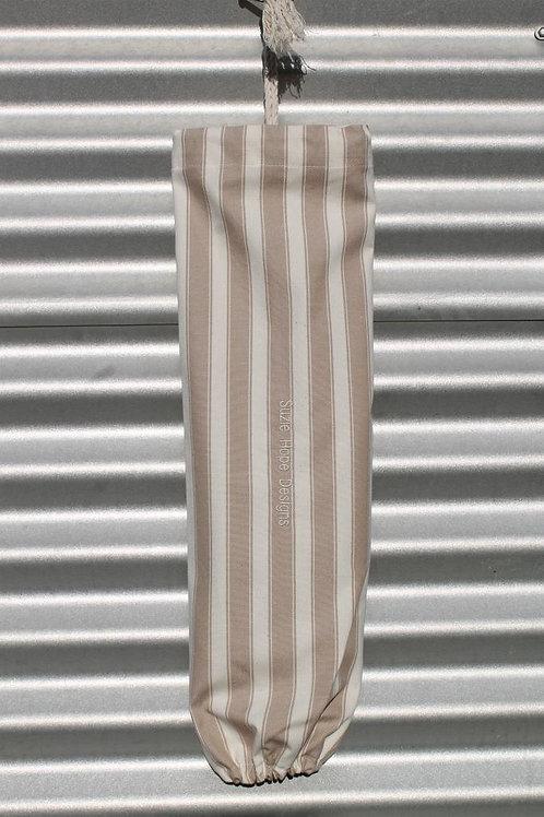 Mocha Stripe Bag for Bags