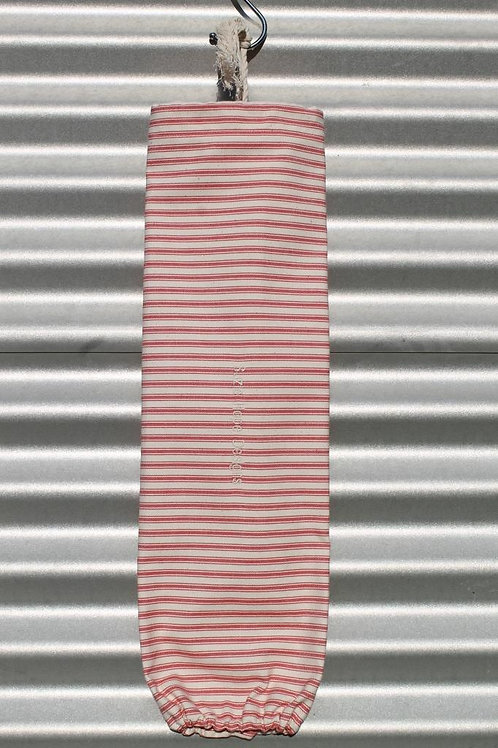 Red Ticking Stripe Bag for bags