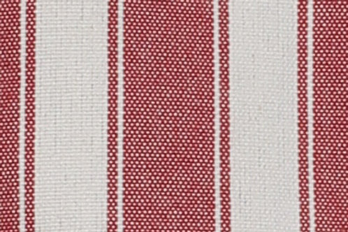 Red and White Reversible Padded Cover