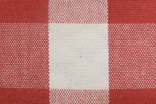 Red Check/Stripe Reversible  Ironing Mat