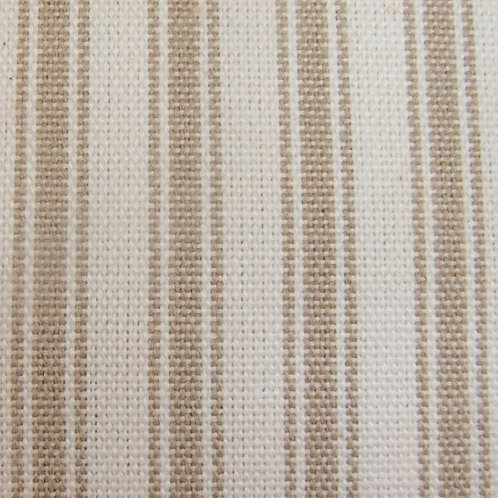 Mocha Ticking Fabric