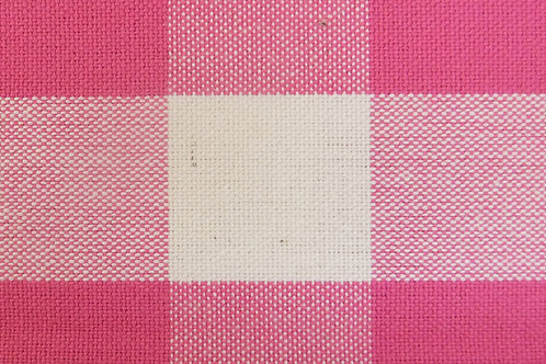 Magenta Check/Stripe Reversible  Ironing Mat