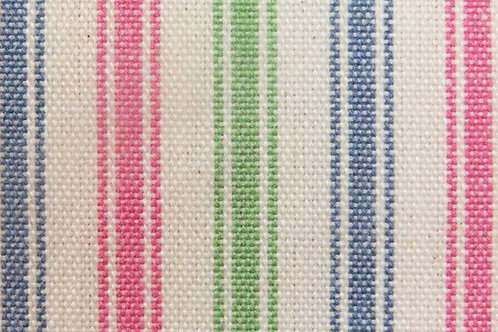 Blue, Pink & Apple Green Single Sided Padded Cover