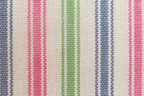 Blue, Pink & Green Reversible Padded Cover