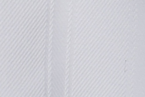 White only Single Sided Padded Cover
