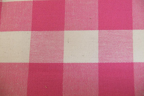 Magenta Check/Stripe Reversible Drawer 95cm
