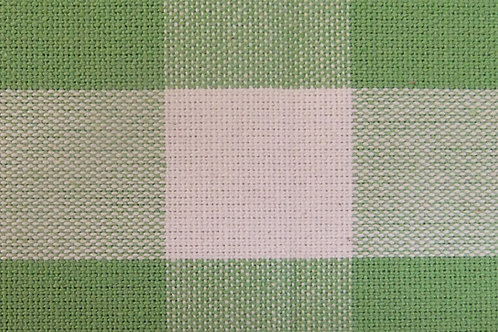 Apple Green Check Laundry Bag