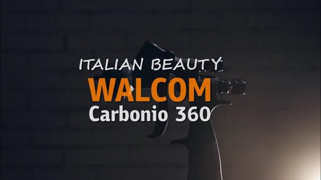 Короткий видеообзор новинки - эксклюзивного краскопульта CARBONIO 360 HTE ITALIAN BEAUTY