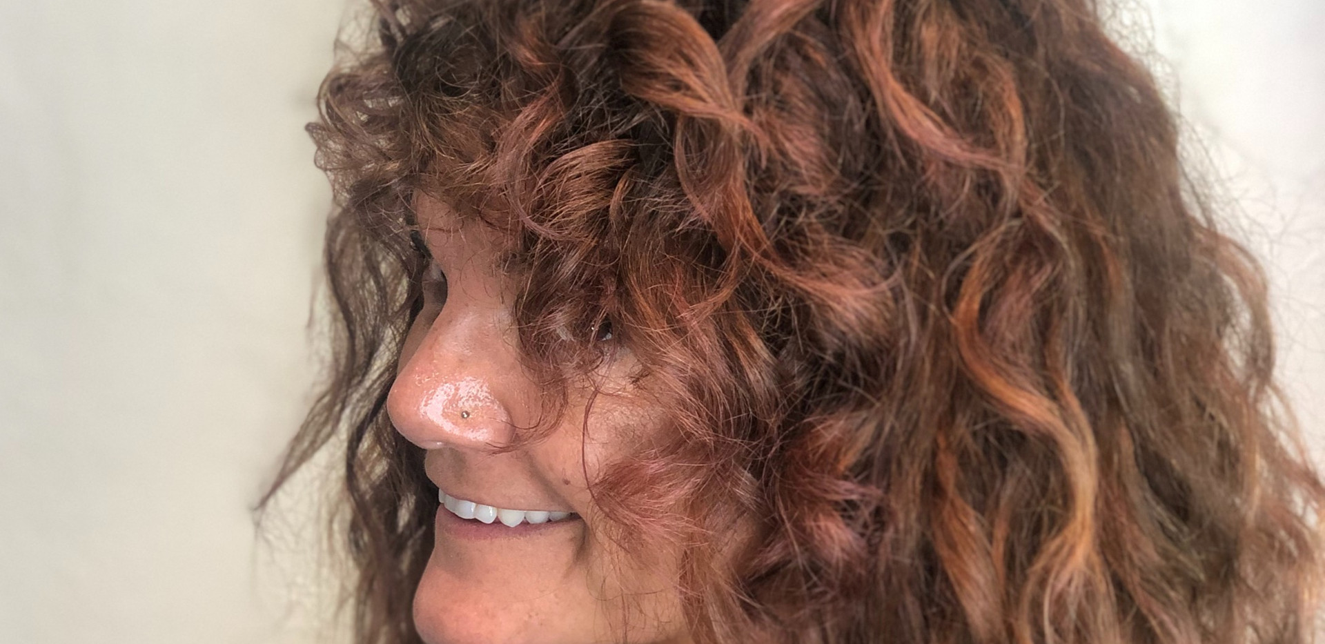 Abelia Curls Color + Shag Long Cut