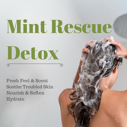 Mint Rescue Detox @ Home Single Treatment