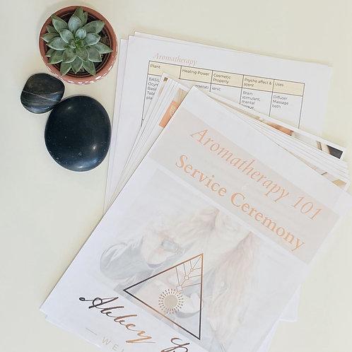 Aromatherapy 101 E-book